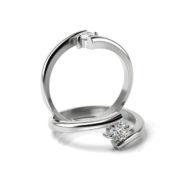 Zásnubný prsteň s diamantom ZP 351