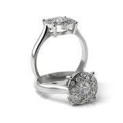 Zásnubný prsteň s diamantom ZP 352
