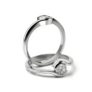 Zásnubný prsteň so zirkónom ZP 356