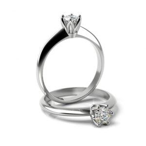 Zásnubný prsteň s diamantom ZP 357