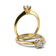Zásnubný prsteň so zirkónom ZP 357 3