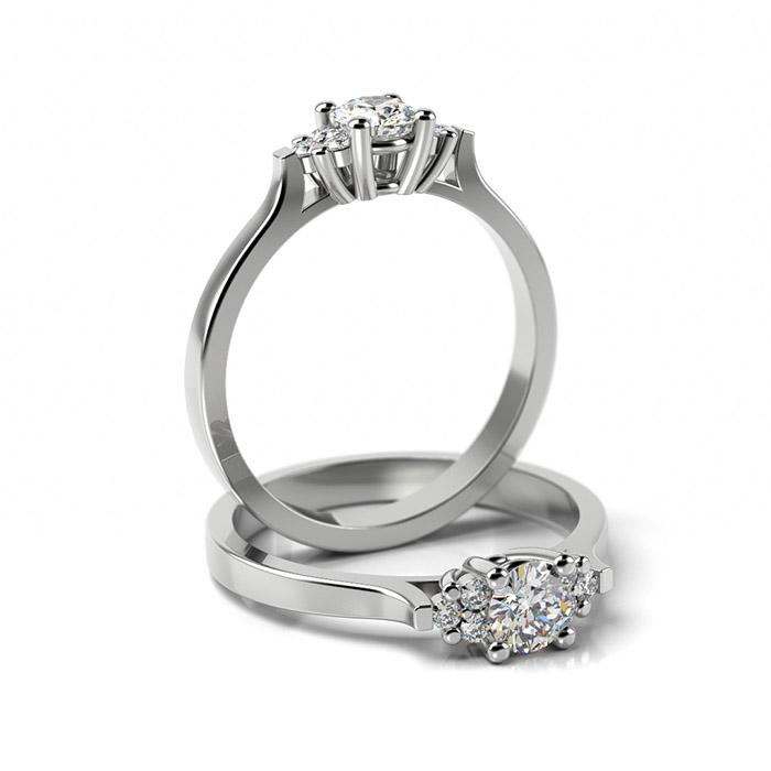 Zásnubný prsteň s diamantom ZP 358 1