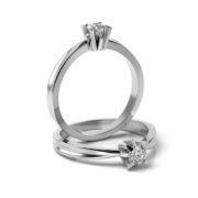Zásnubný prsteň s diamantom ZP 359