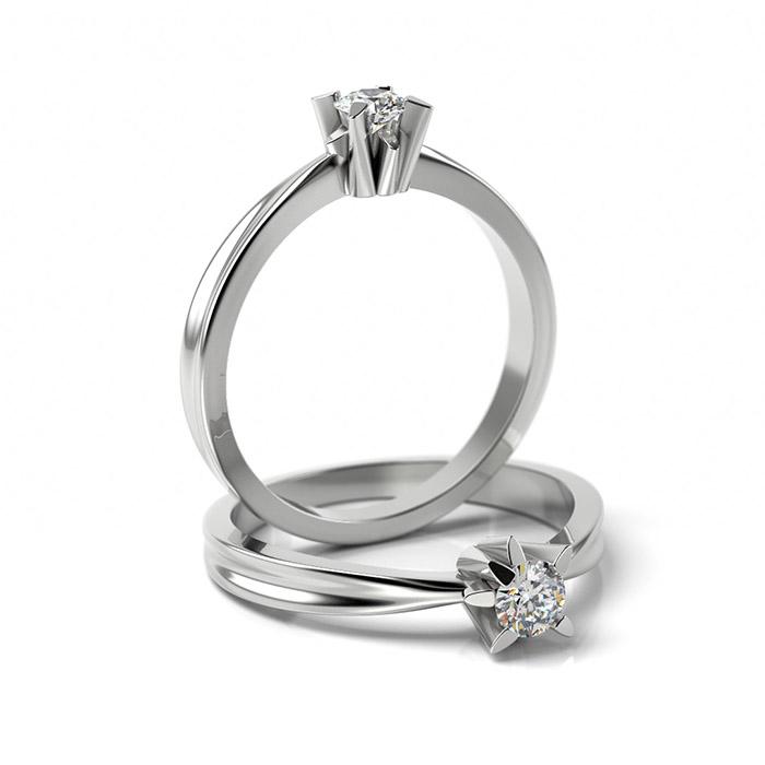Zásnubný prsteň s diamantom ZP 359 1