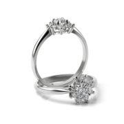 Zásnubný prsteň s diamantom ZP 360 1