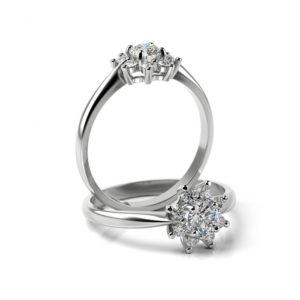 Zásnubný prsteň s diamantom ZP 360