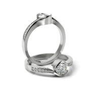 Zásnubný prsteň s diamantom ZP 361