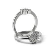 Zásnubný prsteň s diamantom ZP 362