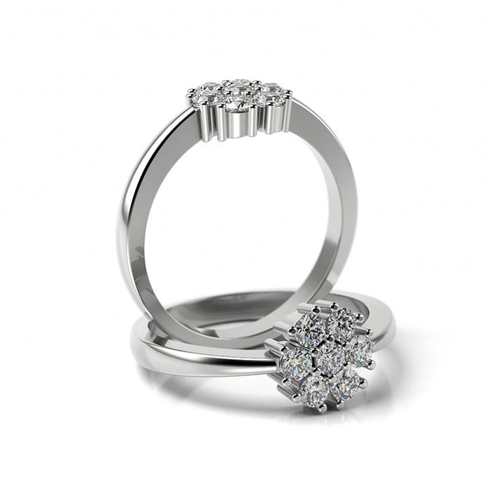 Zásnubný prsteň s diamantom ZP 362 1
