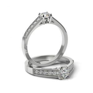 Zásnubný prsteň s diamantom ZP 364