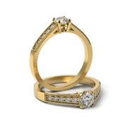 Zásnubný prsteň so zirkónom ZP 364 3