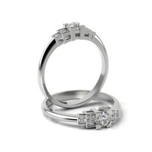 Zásnubný prsteň s diamantom ZP 365