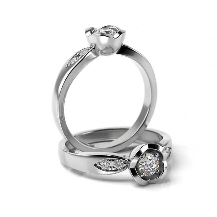 Zásnubný prsteň s diamantom ZP 367 1