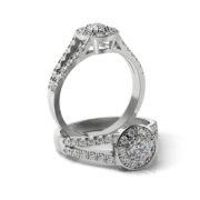 Zásnubný prsteň so zirkónom ZP 368 1