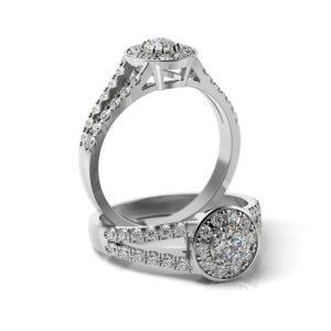 Zásnubný prsteň s diamantom ZP 368