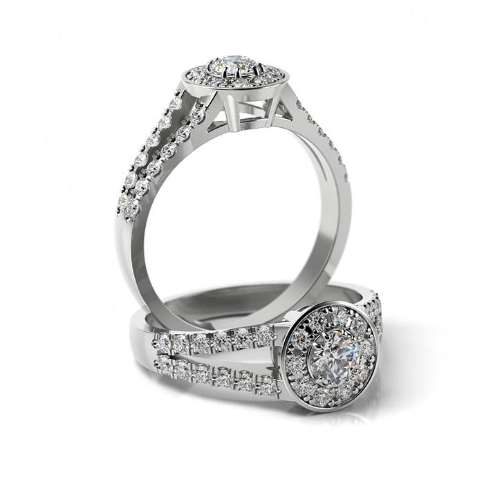 Zásnubný prsteň s diamantom ZP 368 1
