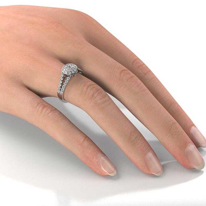 Zásnubný prsteň so zirkónom ZP 368 2