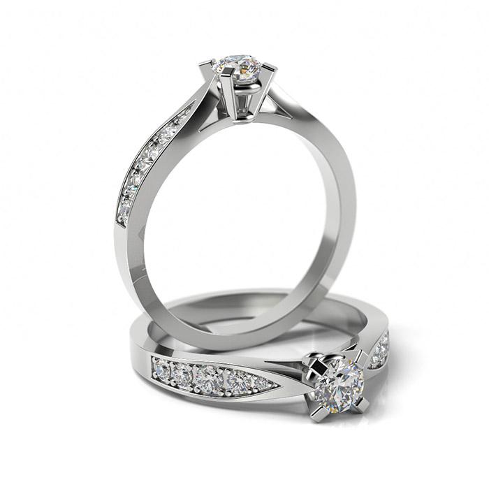 Zásnubný prsteň so zirkónom ZP 369 1