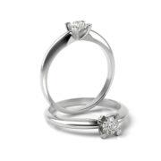 Zásnubný prsteň s diamantom ZP 370 1