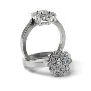 Zásnubný prsteň so zirkónom ZP 372 1
