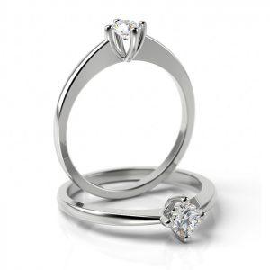 Zásnubný prsteň s diamantom ZP 502