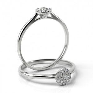 Zásnubný prsteň s diamantom ZP 509