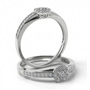 Zásnubný prsteň s diamantom ZP 510