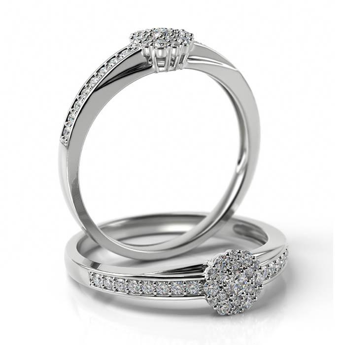 Zásnubný prsteň s diamantom ZP 510 1