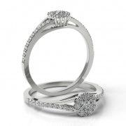 Zásnubný prsteň s diamantom ZP 511 1