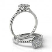 Zásnubný prsteň s diamantom ZP 512