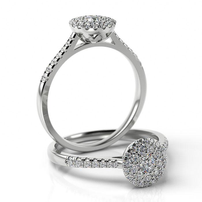 Zásnubný prsteň s diamantom ZP 512 1