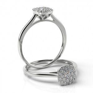 Zásnubný prsteň s diamantom ZP 513