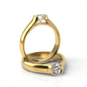 Zásnubný prsteň so zirkónom ZP 702