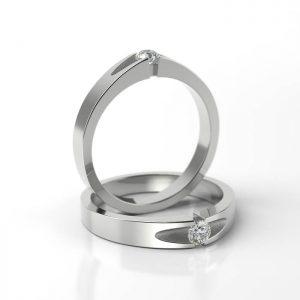 Zásnubný prsteň so zirkónom ZP 711