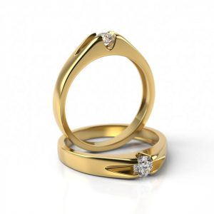 Zásnubný prsteň s diamantom ZP 712