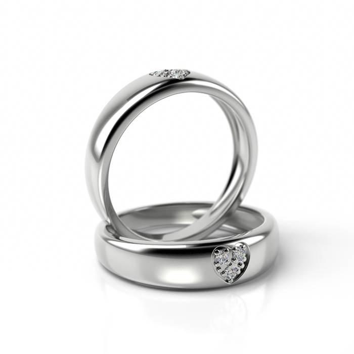 Zásnubný prsteň s diamantom ZP 713