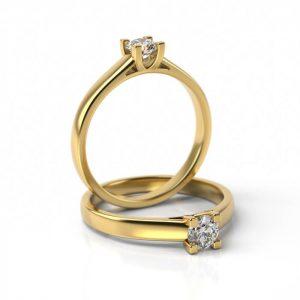 Zásnubný prsteň so zirkónom ZP 715
