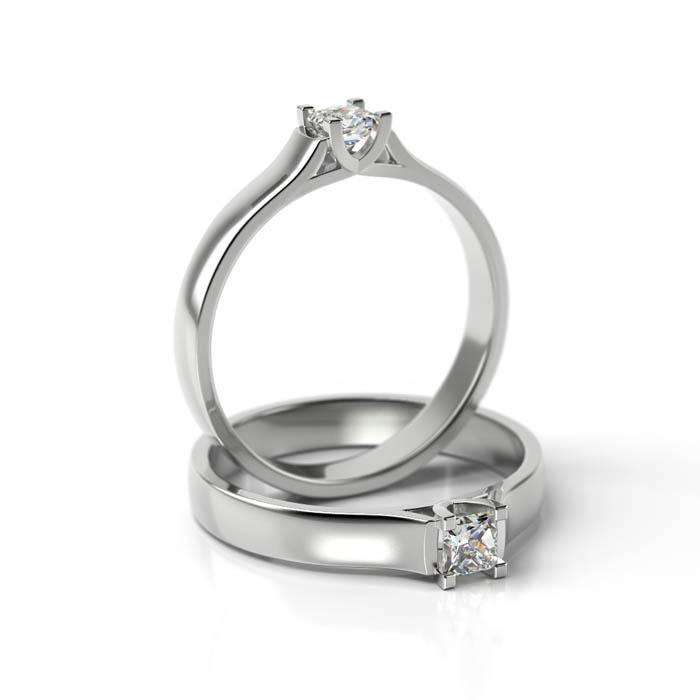 Zásnubný prsteň s diamantom ZP 716