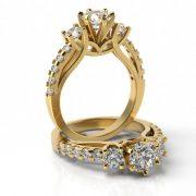 Zásnubný prsteň so zirkónom ZP 719