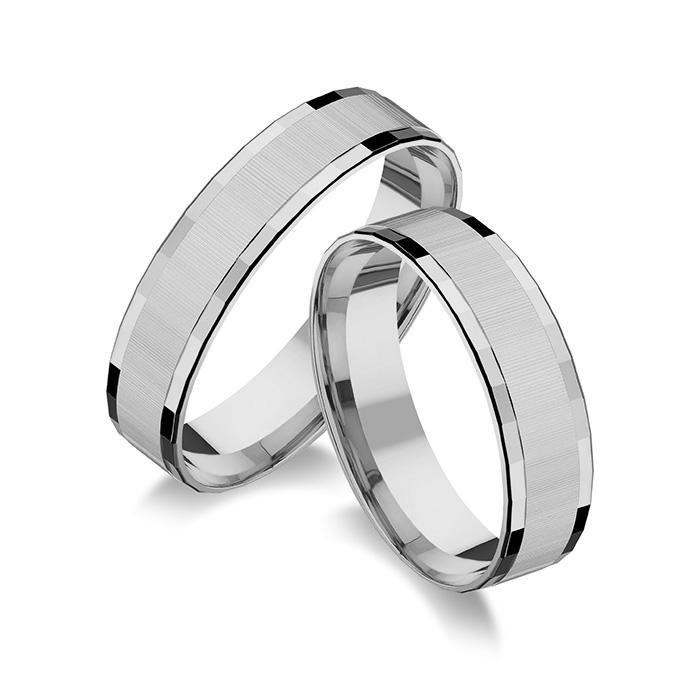8c57882b2 Strieborné svadobné obrúčky SO 023 | Zlatníctvo Panaks