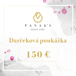 darčeková poukážka 150 EUR